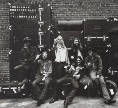 For the album cover of the allman brothers band at fillmore east